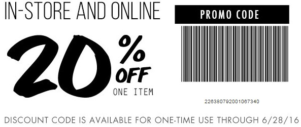 Coupon for: Save with in-store printable coupon at TiLLYS stores
