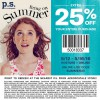 Coupon for: Save today at p.s. from aéropostale
