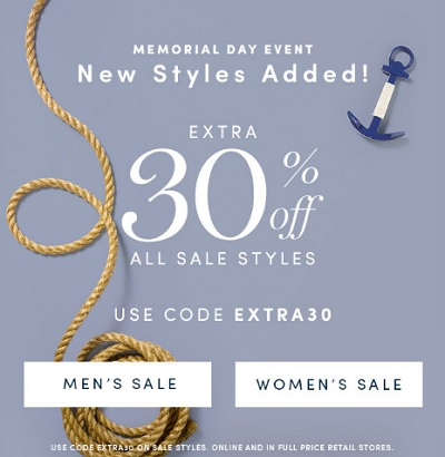 Coupon for: Memorial Day Sale 2016 at Cole Haan