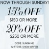 Coupon for: Buy more, save more at bebe