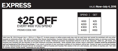 Coupon for: Print the coupon and save at Express