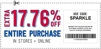 Coupon for: U.S. Crazy 8: Shop 4th of July Sale