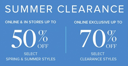 Coupon for: Shop Summer Clearance Sale at Brooks Brothers