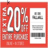 Coupon for: Fall Sale at Crazy 8