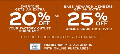 Coupon for: Columbus Day Event G.H. Bass & Co. Factory Outlet