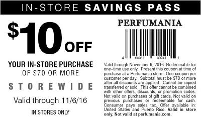 Coupon for: Halloween Price Slash at U.S. Perfumania stores