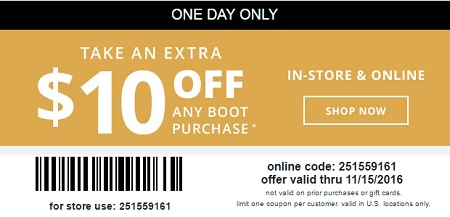 Coupon for: Get an extra discount on your purchase at Payless ShoeSource