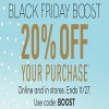 Coupon for: Athleta Black Friday Boost