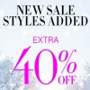 Coupon for: New styles added to sale at U.S. BCBGMAXAZRIA stores