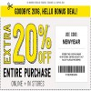 Coupon for: U.S. Crazy 8 deal: Hello New Coupon