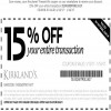 Coupon for: U.S. Kirkland's : Save on your entire purchase