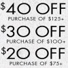 Coupon for: U.S. Nine West Spring Stock Up Tiered Event