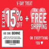 Coupon for: U.S. Crazy 8 Deal: V-Day Treat