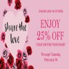 Coupon for: U.S. Vera Bradley Deal: Valentine's Day Sale