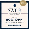 Coupon for: U.S. Brooks Brothers: Enjoy up to 50% off