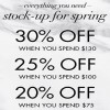 Coupon for: Stock up for spring at Nine West