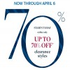 Coupon for: U.S. Brooks Brothers: up to 70% off