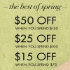 Thumbnail for coupon for: U.S. Nine West: The Best of Spring Event