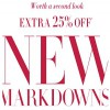 Coupon for: New markdowns just added to the sale at White House Black Market