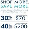 Coupon for: U.S. Banana Republic Deal: Shop More, Save More