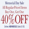 Coupon for: Enjoy shopping during Memorial Day Sale at dressbarn