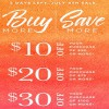 Coupon for: U.S. Crabtree & Evelyn: Buy More, Save More