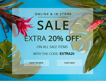 Coupon for: U.S. 7 For All Mankind: Get extra DISCOUNT