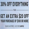 Coupon for: U.S. Eddie Bauer: Everything on sale + Extra 20% off